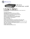 4 Channel Economy DVR Data Sheet