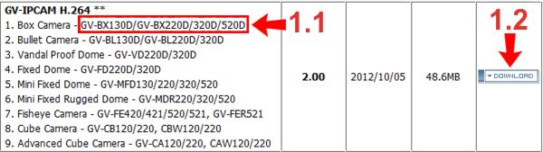 Geovision IP Camera Firmware Update