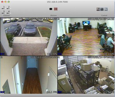 Surveillance DVR Remote Access Mac | iDVR-E