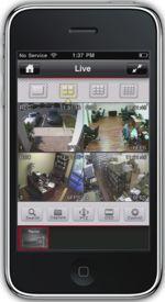 Tuto Vidéosurveillance iPhone pour accéder à caméra IP en 3G et Wifi