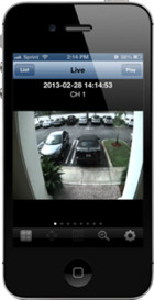 iPhone Remote View Setup