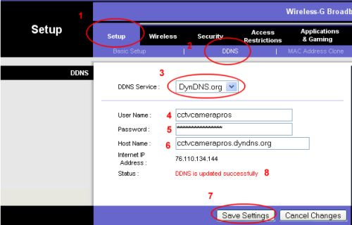Linksys Router Setup Dynamic Dns