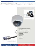 Megapixel Network Camera Spec Sheet