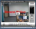 Motion Detection Recording Setup Video