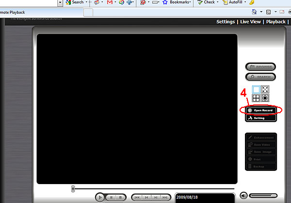NUUO NVR Video Export Instructions - Step 3