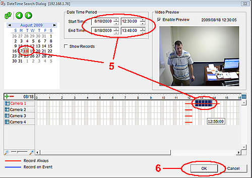 NUUO NVR Video Export Instructions - Step 4