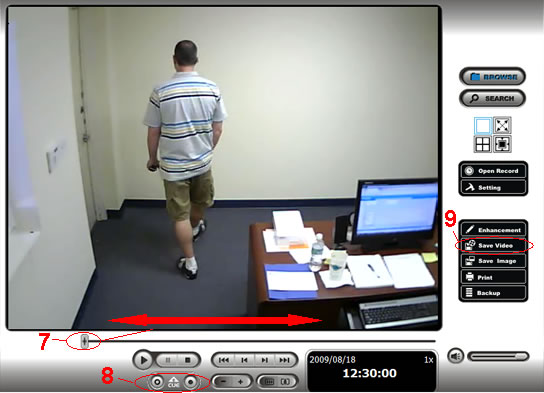 NUUO NVR Video Export Instructions - Step 5