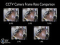 CCTV Camera Recording Frame Rate Comparison