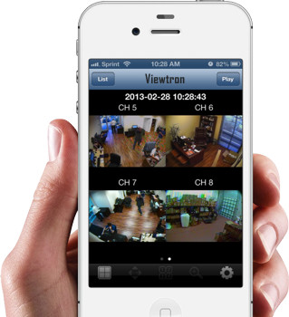 DVR Viewer iPhone App