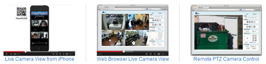 Viewtron Surveillance DVR Demo Videos