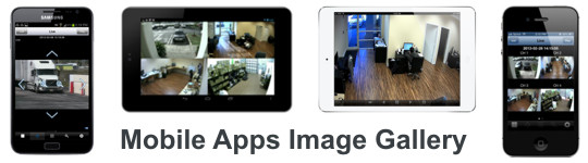 Mobile CCTV DVR Viewer Apps