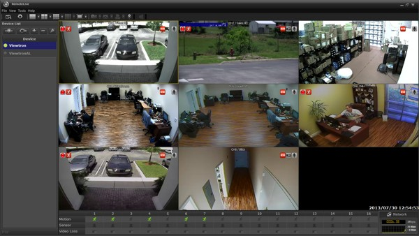 Viewtron Surveillance DVR Remote Live Client Software Setup