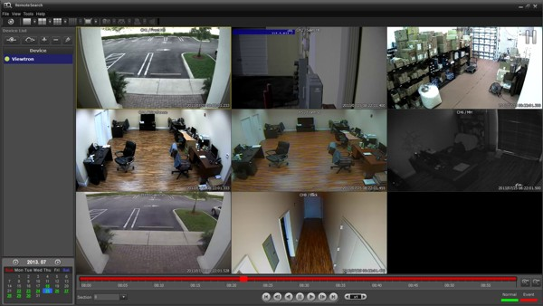 Viewtron Surveillance DVR Remote Search Client Software Setup