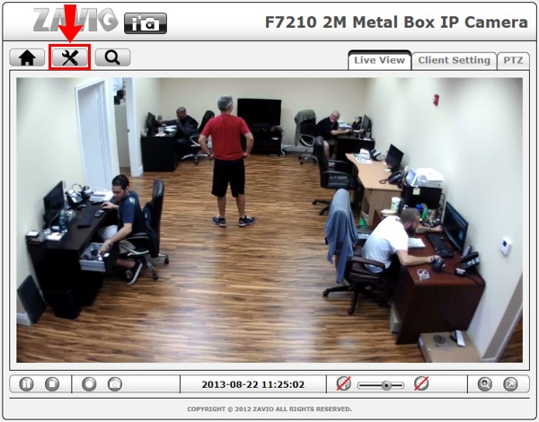 Zavio IP Camera Motion Detection Setup