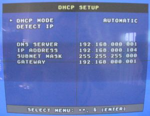 DHCP Mode