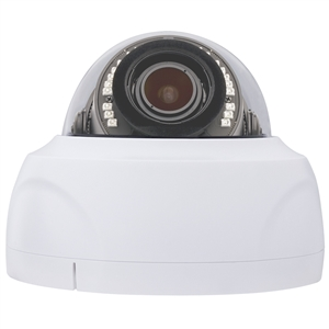 White Dome Security Camera