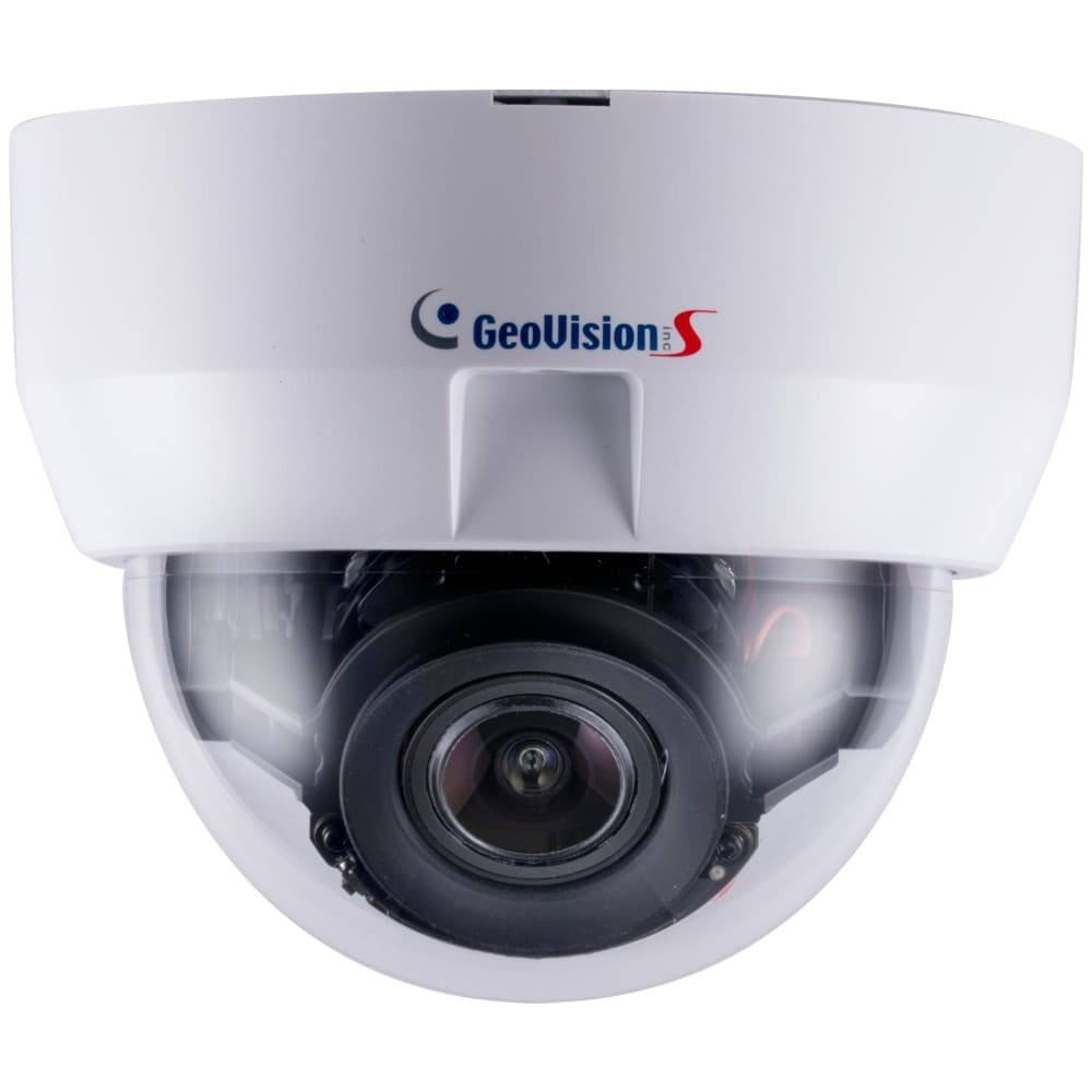 Geovision GV-MD8710-FD Face Detection IP Dome Camera, 4K / 8MP, H 265