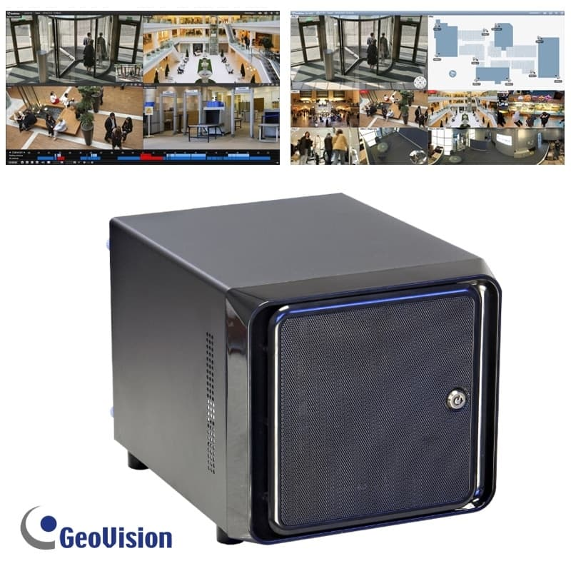 GeoVision NVR, Custom Built PC Based DVRs, GV-NVR IP Camera Software