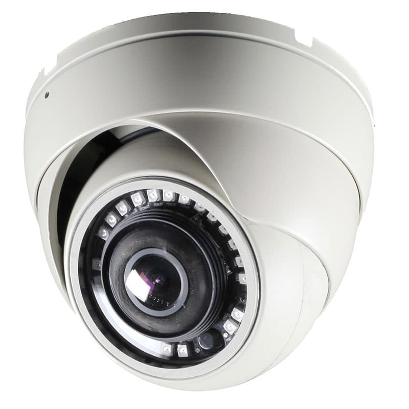 180 Degree Dome Security Camera Hd Over Coax Hd Tvi Ahd