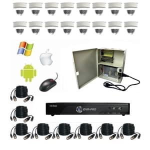 Outdoor Dome Camera System