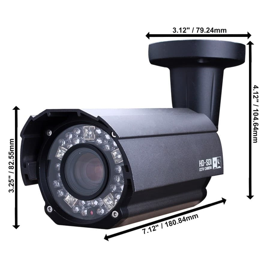 Hd Lpr Camera 1080p License Plate Capture Cctv Tvi Ahd Hdcvi Panasonic Ptz Wiring Diagram