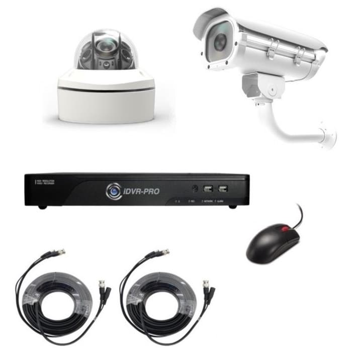 License Plate Recognition Camera System, 1080p HD LPR Camera, HD DVR