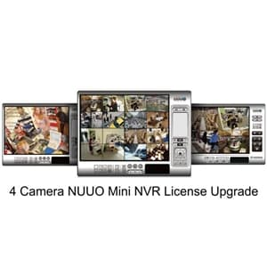 NUUO Mini 4ch NVR License