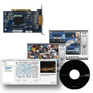 4 Channel DVR Card