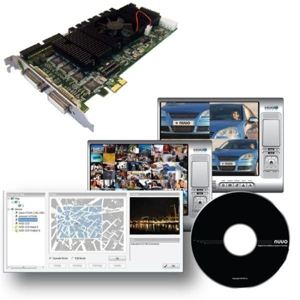 NUUO SCB-7016, 16 Channel DVR Card, 480 FPS, D1 Resolution