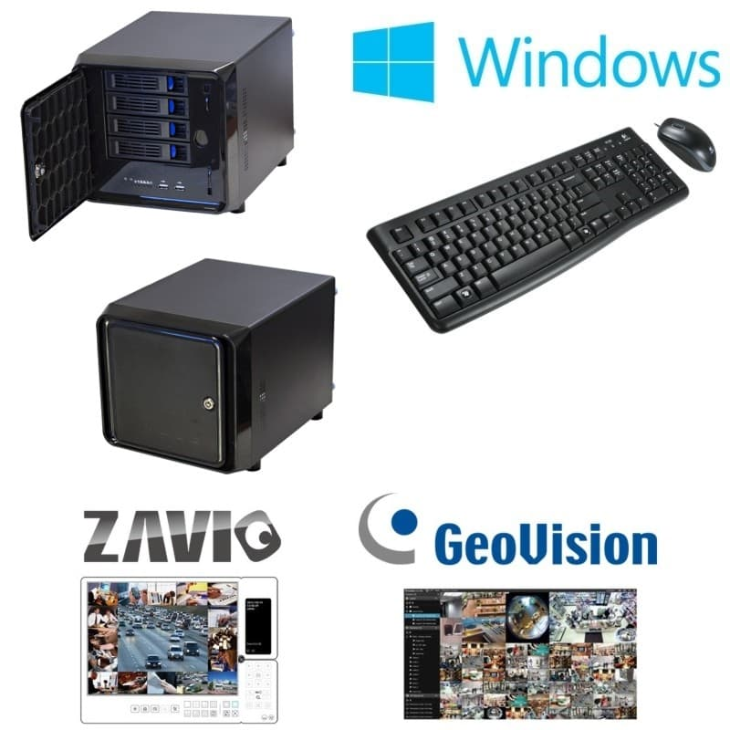 Pc Based Mini Network Video Recorder Windows Nvr