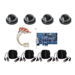 Geovision DVR Card 4 Camera Kit