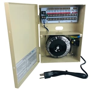 18ch CCTV Power Supply Box