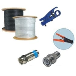 RG59 Siamese Cable Spool Kit