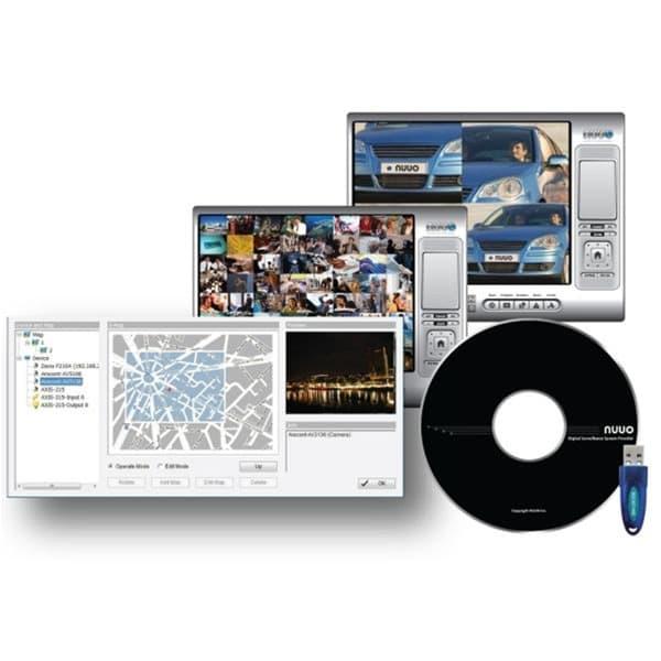 NUUO SCB IP+ 25 IP Camera Software | NVR Software