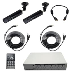HD CCTV camera TV display system