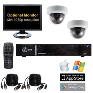 2 Camera Video Surveillance System