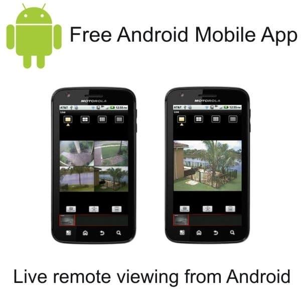 surveillance camera system iphone