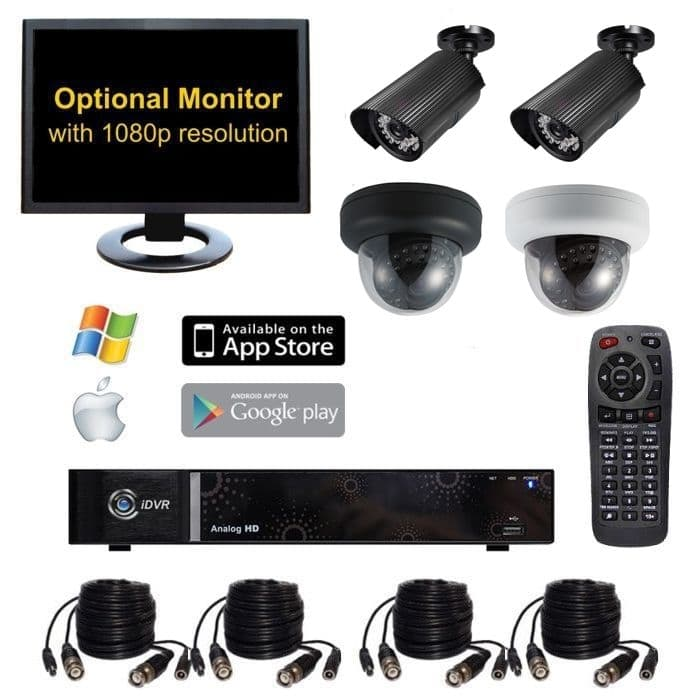 Home Video Surveillance System | Indoor & Outdoor