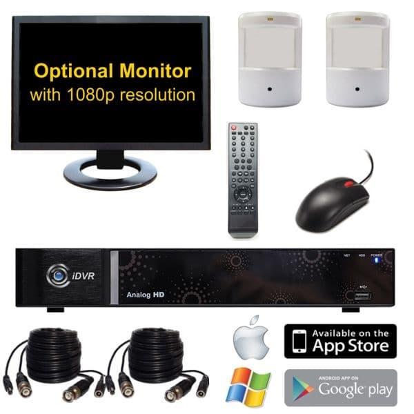 Hd Hidden Surveillance Camera System