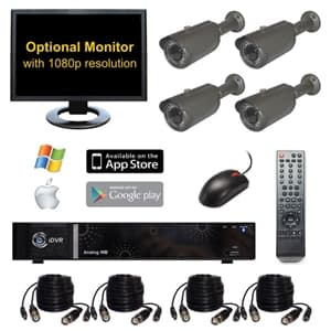 HD Home Security Camera System