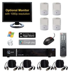 HD Hidden Security Camera System
