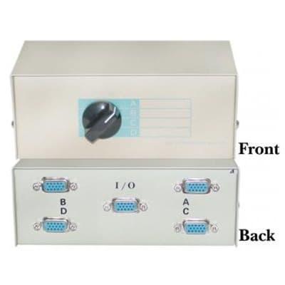 VGA Monitor Switch Box 4 Way