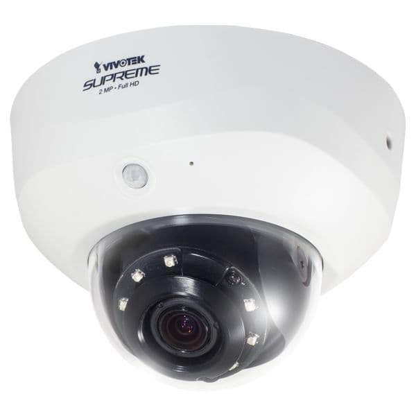 Vivotek FD8163 Dome Network IP Camera, PIR Motion Detection, Infrared