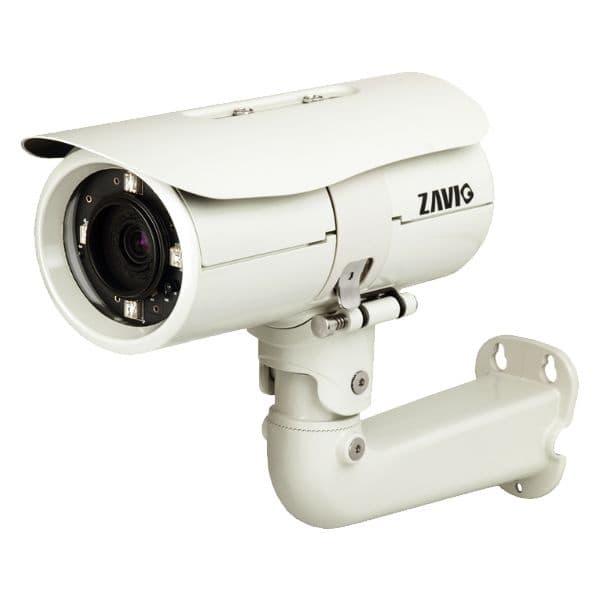 Weatherproof network bullet camera zavio b7510 ip camera for Web tv camera
