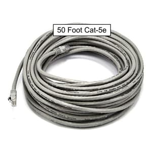 50 Foot CAT5E Patch Cable