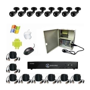 Système de surveillance haute définition