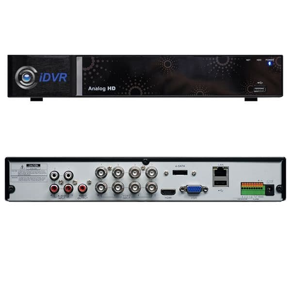8ch DVR, Stand-Alone AHD CCTV DVR, H 264, iPhone, Android, Mac Viewer
